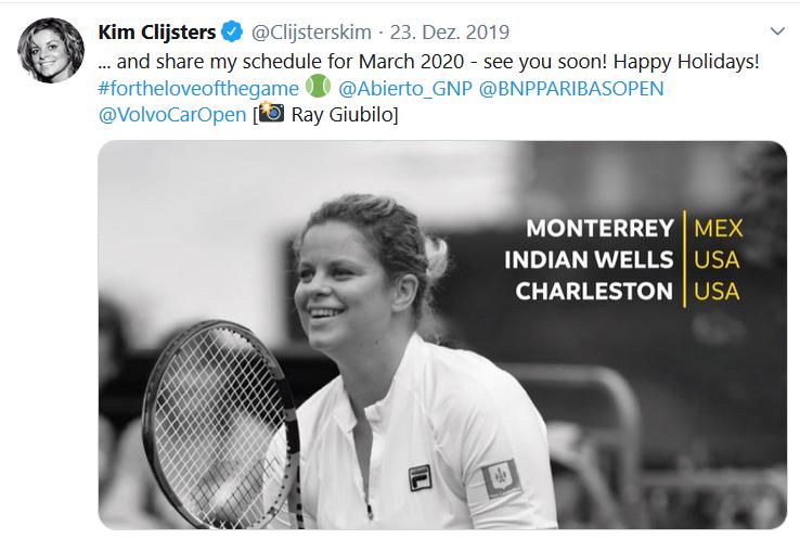 Clijsters Comeback